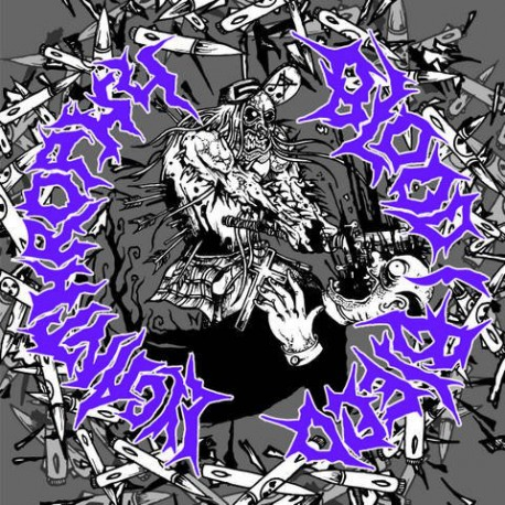 """Lycanthrophy / Blood I Bleed - Split - 10"""" Splatter"""