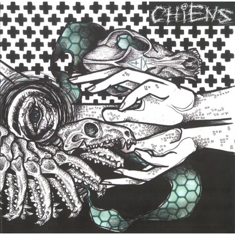"Chiens ‎– Vultures Are Our Future - 10"" Splatter"