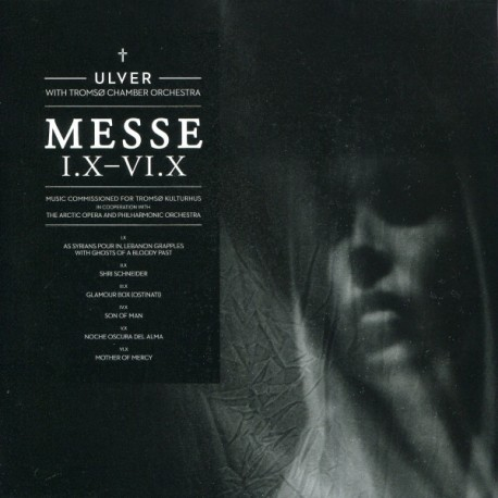 Ulver With Tromsø Chamber Orchestra ‎– Messe I.X-VI.X - CD-Digi