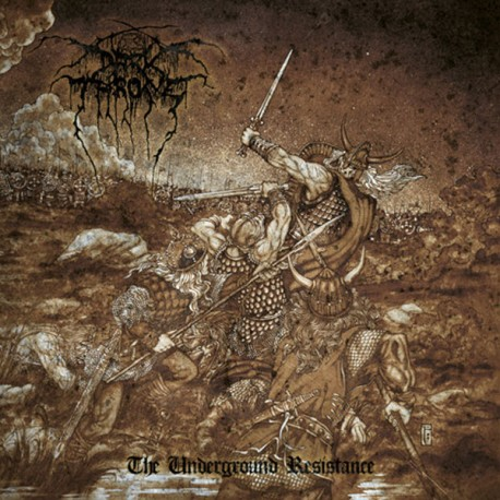 Darkthrone ‎– The Underground Resistance - CD-Digi