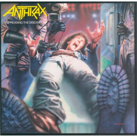 Anthrax ‎– Spreading The Disease - CD