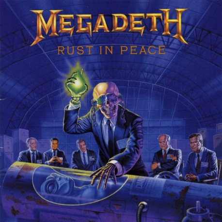 Megadeth ‎– Rust In Peace - CD
