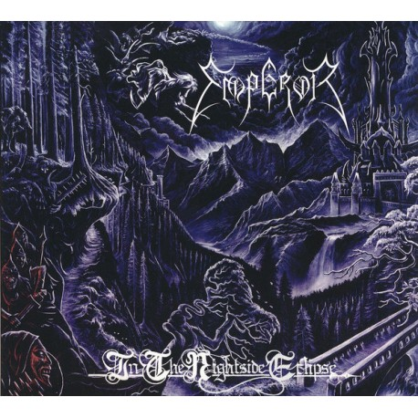 Emperor ‎– In The Nightside Eclipse - CD-Digi