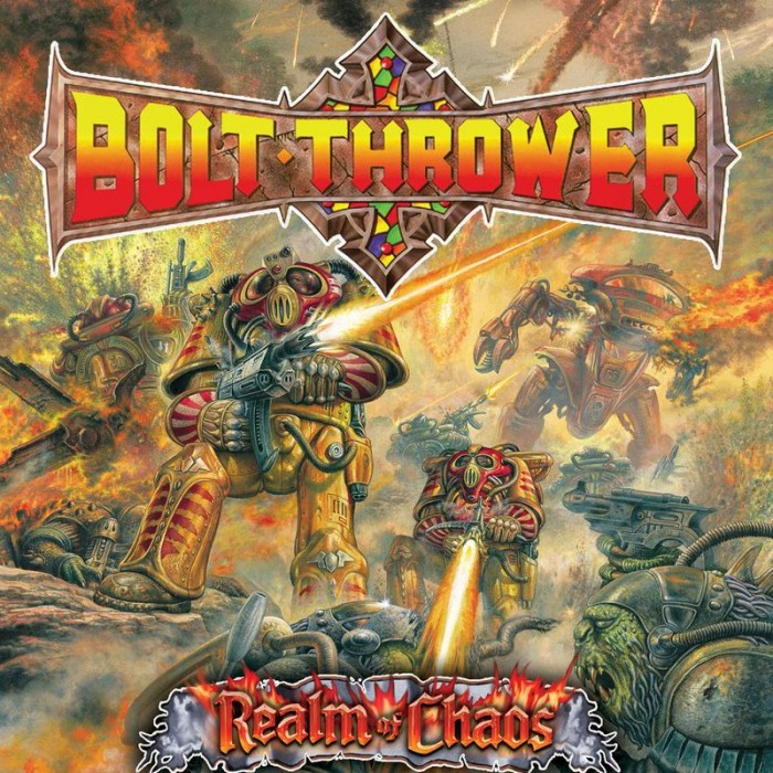 Bolt Thrower /'Realm Of Chaos/' Printed Flag NEW OFFICIAL