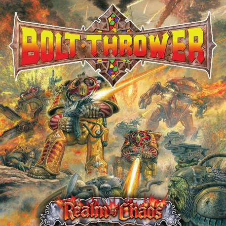 Bolt Thrower ‎– Realm Of Chaos - CD