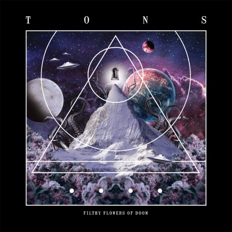 Tons ‎– Filthy Flowers Of Doom - CD-Digi