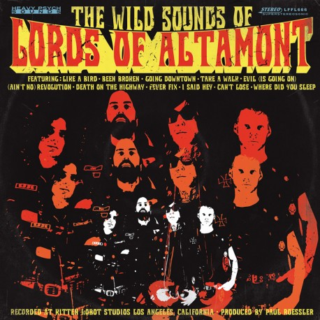 The Lords Of Altamont ‎– The Wild Sounds Of The Lords Of Altamont - CD-Digi
