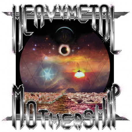 Turn Me On Dead Man ‎– Heavymetal Mothership - LP