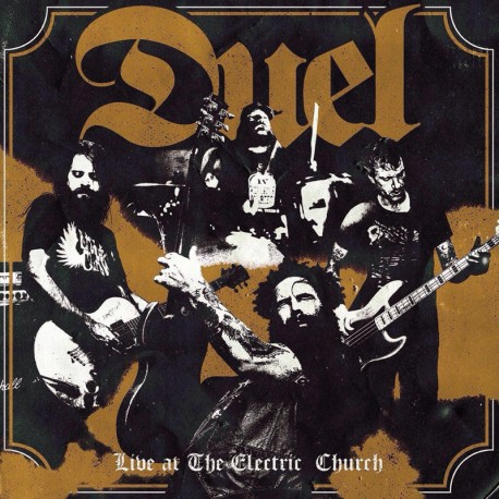 Duel ‎– Live At The Electric Church - LP