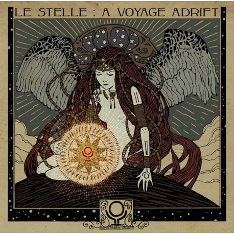 Incoming Cerebral Overdrive – Le Stelle : A Voyage Adrift - LP