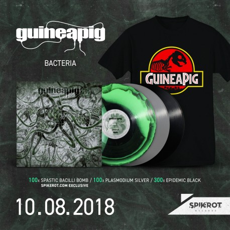 Guineapig - Bacteria - LP + T-Shirt BUNDLE