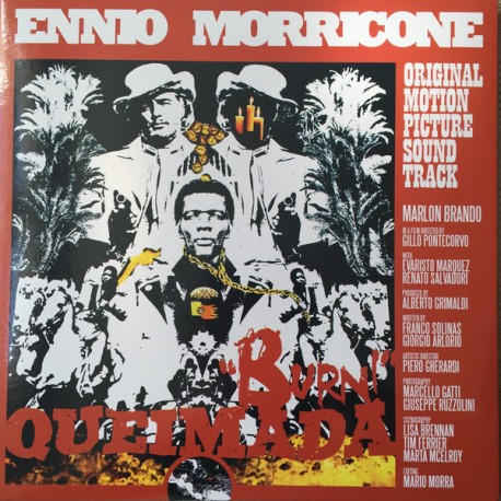Ennio Morricone ‎– Queimada / Burn! (Original Motion Picture Soundtrack) - LP Orange
