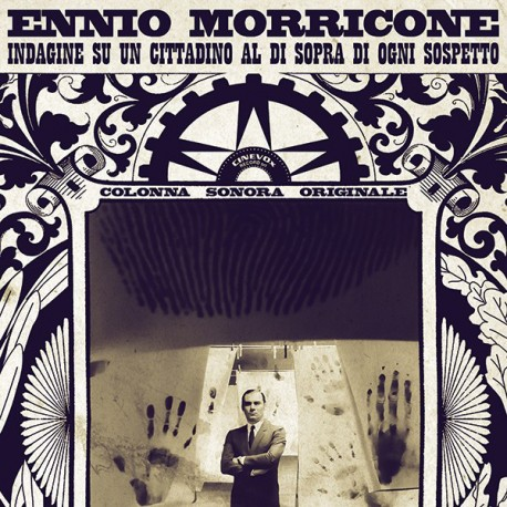Ennio Morricone – Indagine Su Un Cittadino Al Di Sopra Di Ogni Sospetto (Original Soundtrack) - LP Black/Gold