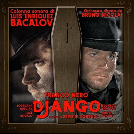 Luis Bacalov ‎– Django (Original Soundtrack) - LP Gold
