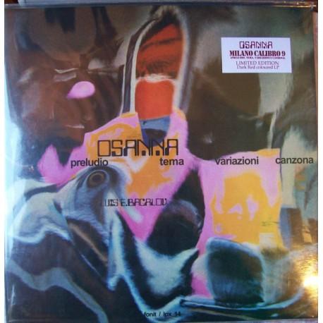 Osanna – Milano Calibro 9 (Preludio Tema Variazioni Canzona) - LP Red