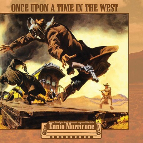 Ennio Morricone – Once Upon A Time In The West - LP Transparent + Poster