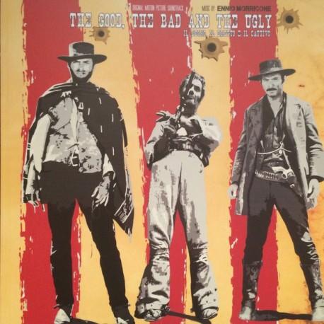Ennio Morricone – The Good, The Bad And The Ugly (Il Buono, Il Brutto E Il Cattivo) - LP