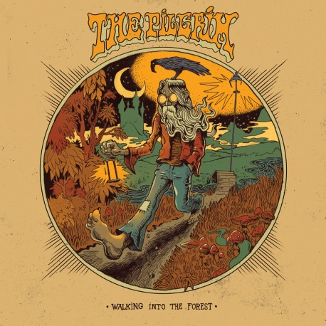 The Pilgrim ‎– Walking Into The Forest - CD Digi
