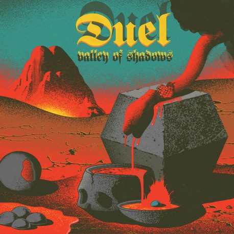 Duel – Valley Of Shadows - LP