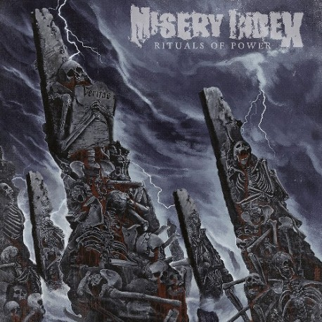 Misery Index - Rituals Of Power - LP Silver