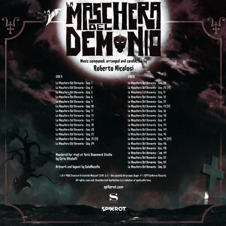 La Maschera Del Demonio / Black Sunday Original Soundtrack - LP