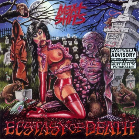 Meat Shits ‎– Ecstasy Of Death - CD