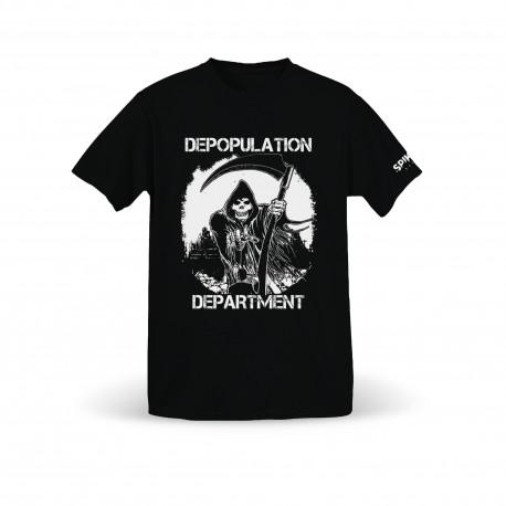 Depopulation Department - Life Kills T-Shirt - Spikerot Exclusive