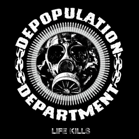 Depopulation Department - Life Kills - CD ( + FREE Patch)