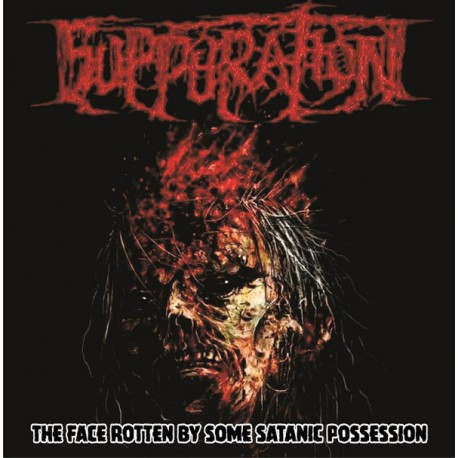 Suppuration ‎– The Face Rotten By Some Satanic Possession - CD