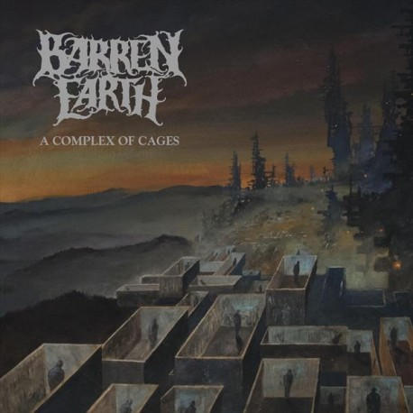 Barren Earth ‎– A Complex Of Cages - CD-Digi