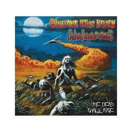 """Gruesome Stuff Relish / Choked By Own Vomits – The """"Gates Of Hell"""" Trilogy / Choked By Own Vomits - Split CD"""