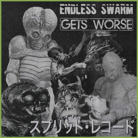 Endless Swarm / Gets Worse ‎– Endless Swarm / Gets Worse - Split 7""
