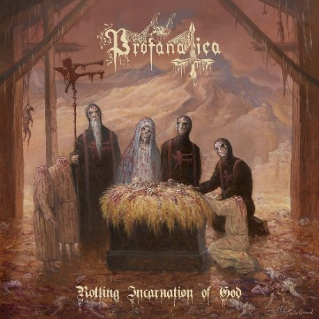 Profanatica ‎– Rotting Incarnation Of God - CD