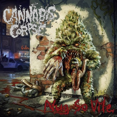 Cannabis Corpse ‎– Nug So Vile - CD-Digi
