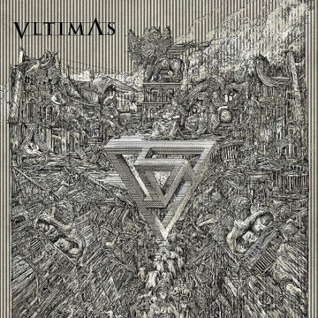 Vltimas ‎– Something Wicked Marches In - LP