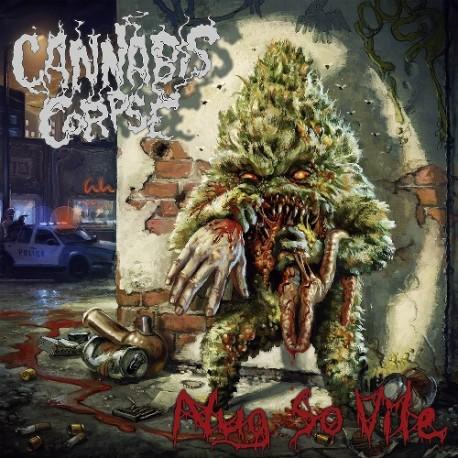 Cannabis Corpse – Nug So Vile - LP Clear Red