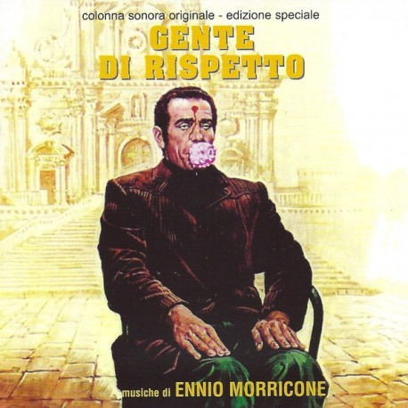 Ennio Morricone ‎– Gente Di Rispetto (Original Motion Picture Soundtrack) - LP