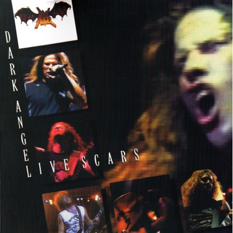 Dark Angel - Live Scars - LP