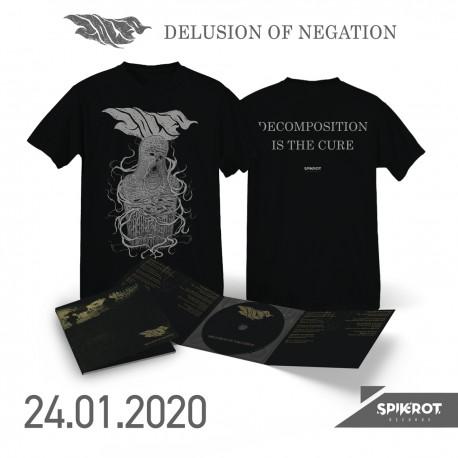 Zolfo - Delusion Of Negation - CD-Digi + T-Shirt Bundle