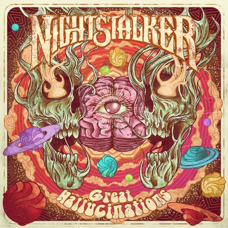 Nightstalker ‎– Great Hallucinations - CD-Digi