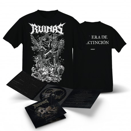 Ruinas - Ikonoklasta - CD-Digi + T-Shirt Bundle