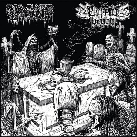 Graveyard Ghoul / Cryptic Brood – The Graveyard Brood - Split LP