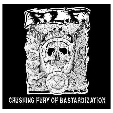 P.L.F. - Crushing Fury of Bastardization - CD