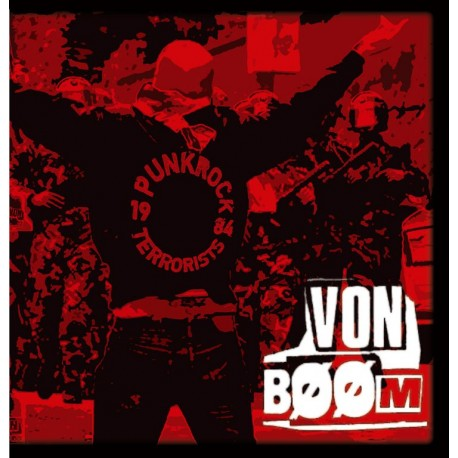Von Bøøm – Punkrock Terrorists - CD