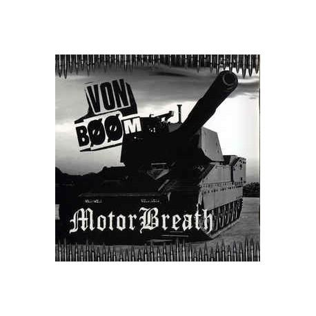 Von Bööm/ MotorBreath – Swedenpower - Split CD