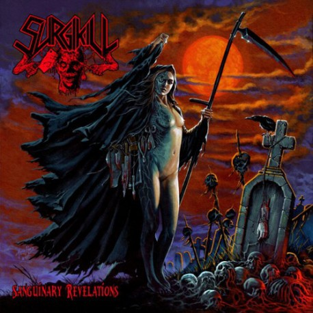 Surgikill ‎– Sanguinary Revelations - CD-Digi