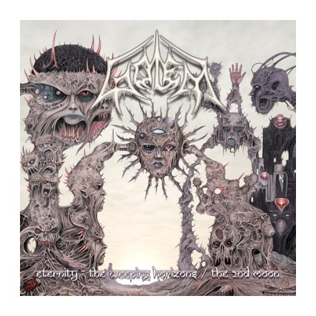 Golem – Eternity - The Weeping Horizons / The 2nd Moon - 2LP