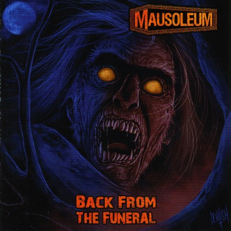 Mausoleum – Back From The Funeral - LP Blue