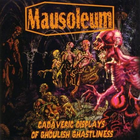 Mausoleum – Cadaveric Displays Of Ghoulish Ghastliness - LP White