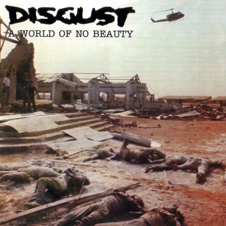 Disgust ‎– A World Of No Beauty - 2LP